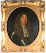 A large early 18th-century portrait of a nobleman with lace collar, reputedly John Maitland, 1st