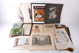 A collection of theatrical ephemera from the collection of Patrick Wheatley, to include assorted