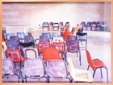 Sharon Ya'ari [Yaari], (b.1966) Israel, 'Chairs, 2001', a limited edition colour photograph,