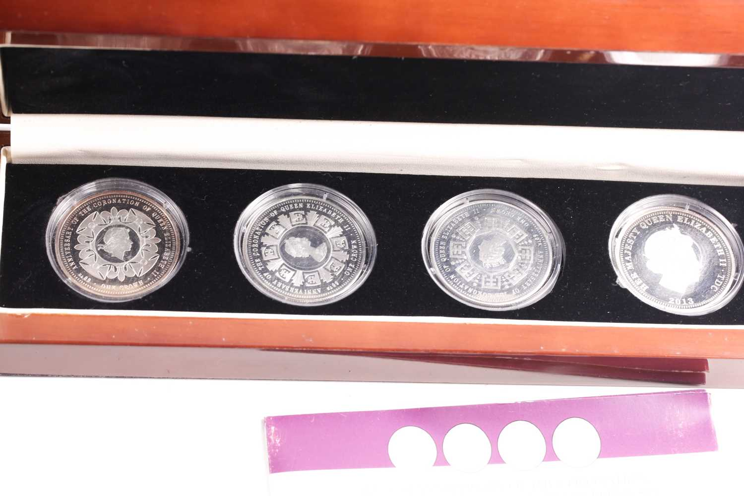 Eight boxed sets of commemorative coins, comprising: 'Squadrons of the Royal Air Force' four-coin - Image 9 of 9