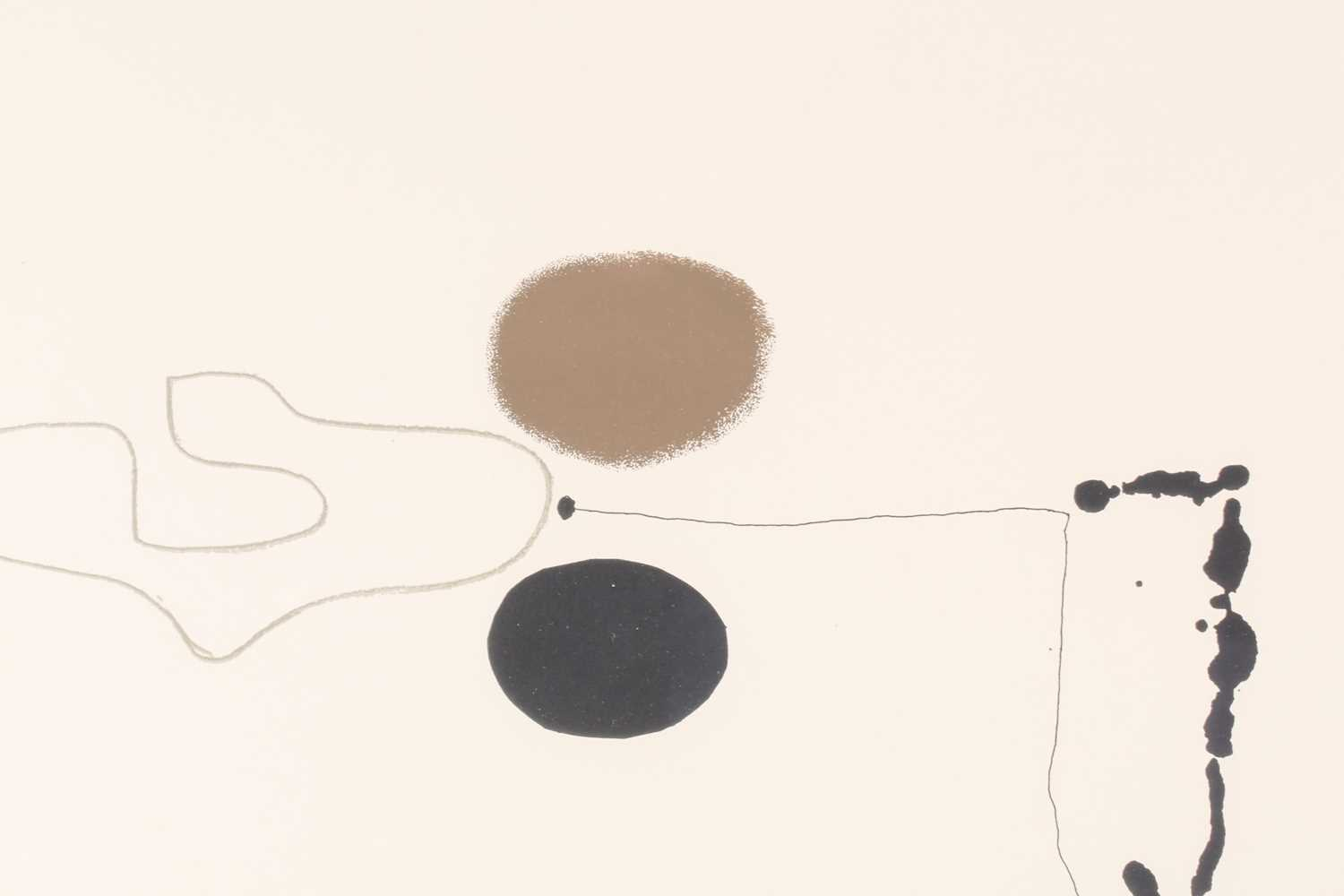 Victor Pasmore RA (1908-1998), 'Linear Development II', from 'Points of Contact', 1970', artist - Image 5 of 5
