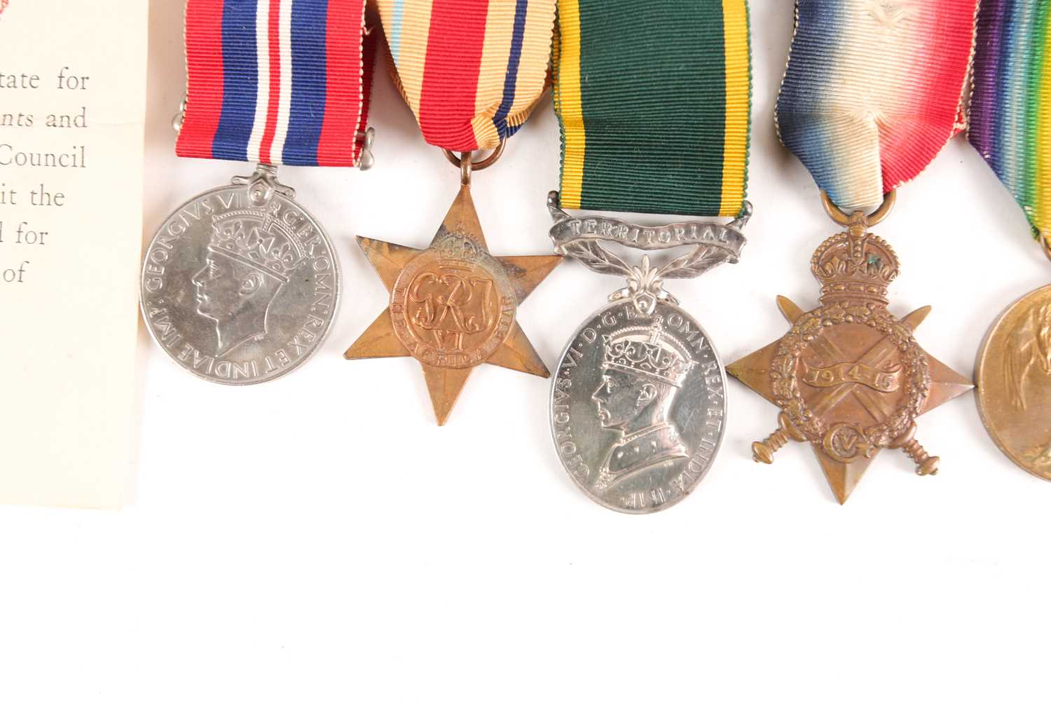 A WWI Campaign, Victory Medal and 1914-1918 Star, to G-4982 PTE. J.R. Pont, Royal Sussex Regiment, - Image 3 of 10