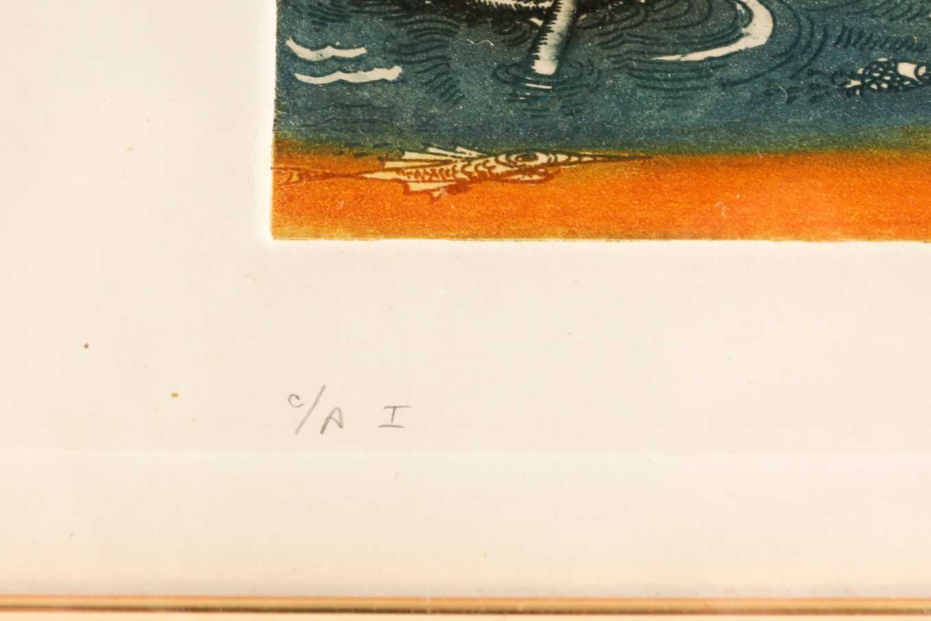 20th century Spanish school, two limited edition prints, 'El que a Hierro Mata a Hierro Muere' (37 - Image 4 of 10