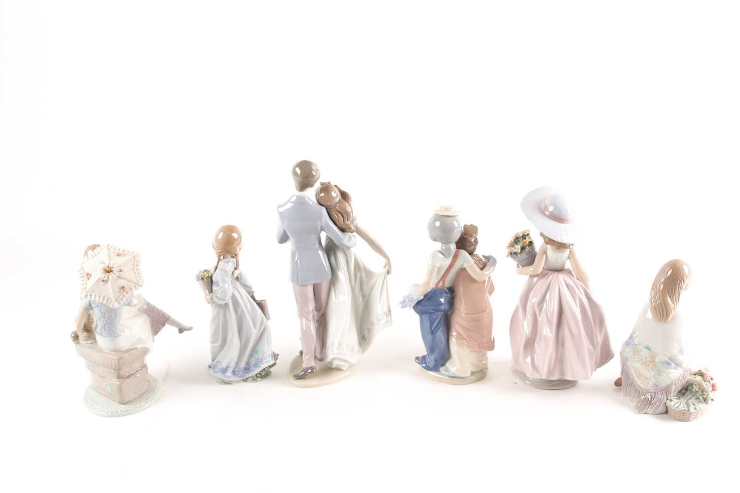 Six Lladro figures, Now & Forever (07642), A Wish Come True, (07676), Pals Forever, (07686), - Image 3 of 6
