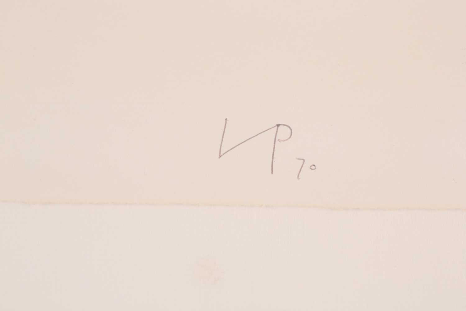 Victor Pasmore RA (1908-1998), 'Linear Development II', from 'Points of Contact', 1970', artist - Image 4 of 5