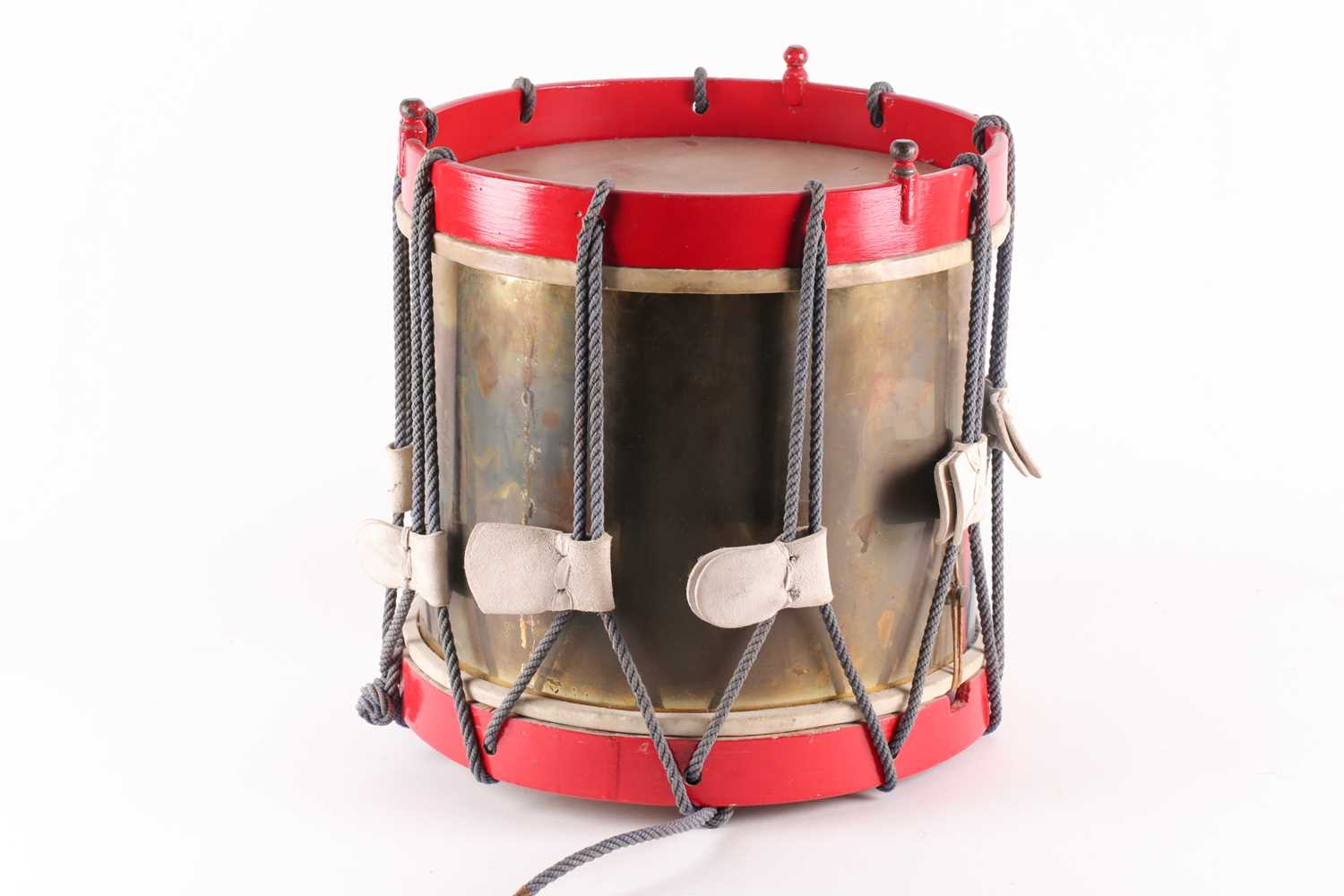 A 20th century regimental (Queen's own regiment of foot?) side drum by Peter Henderson ltd of - Image 2 of 5
