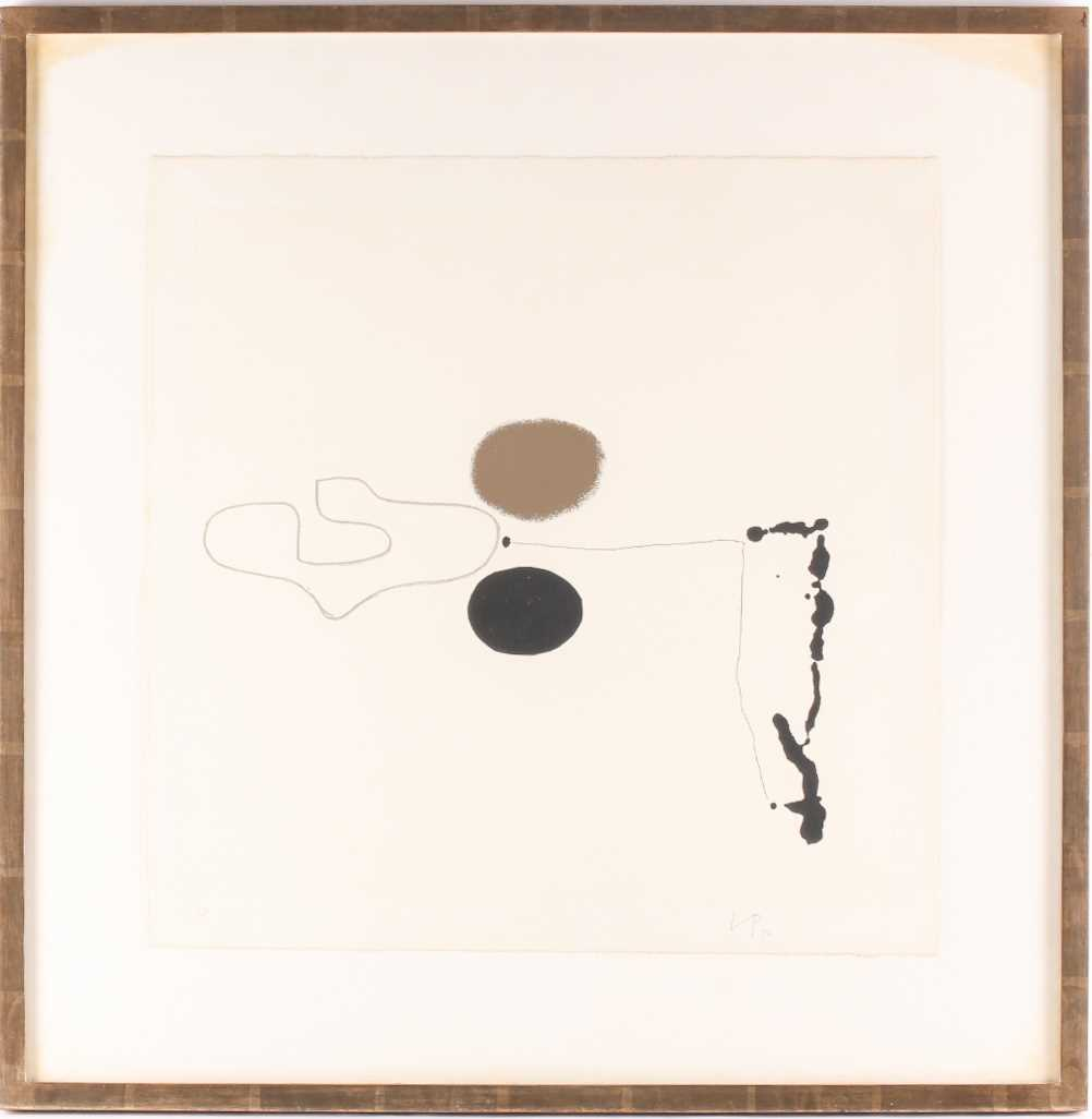 Victor Pasmore RA (1908-1998), 'Linear Development II', from 'Points of Contact', 1970', artist
