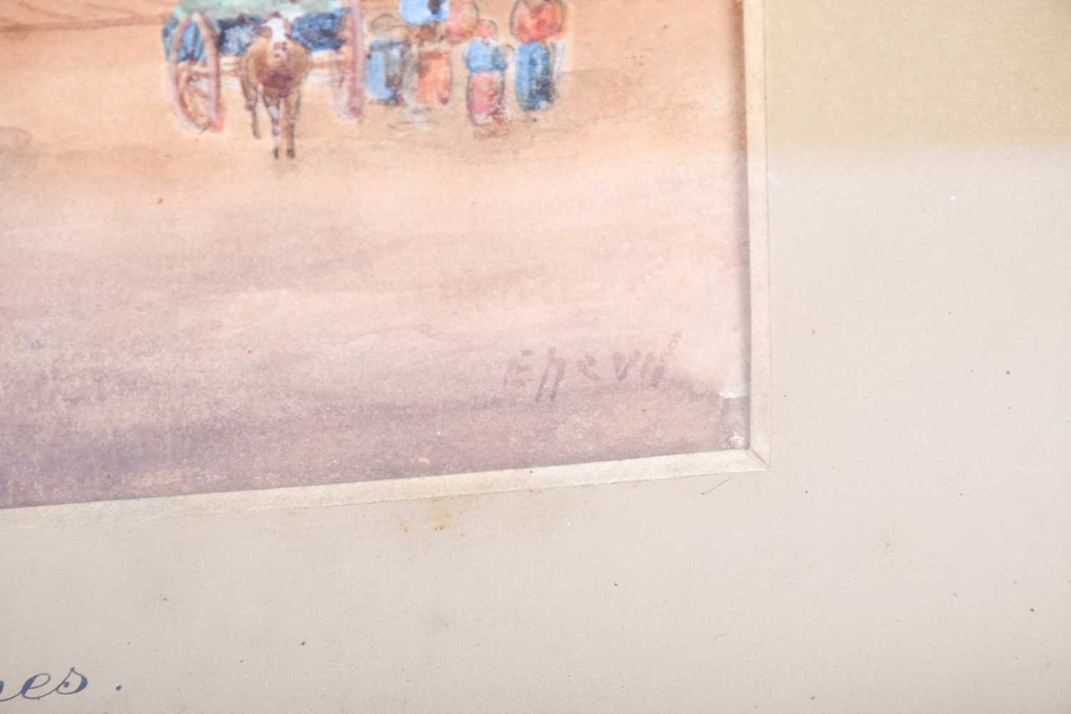 Edward Nevil (British, fl: 1880 - 1900) 'Ypres' & 'Malines', signed, watercolour, a pair, 27 x 19cm - Image 5 of 7