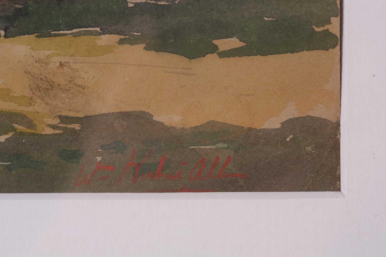 "William Herbert Allen (1863-1943), ""King's Farm, Binstead"" and ""Binstead"", watercolours, a pair, - Image 4 of 11"
