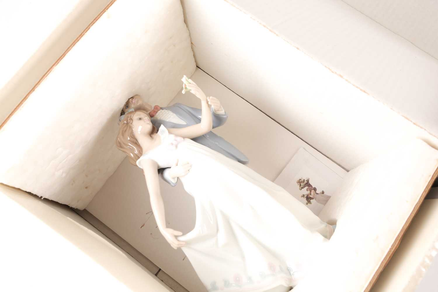 Six Lladro figures, Now & Forever (07642), A Wish Come True, (07676), Pals Forever, (07686), - Image 5 of 6