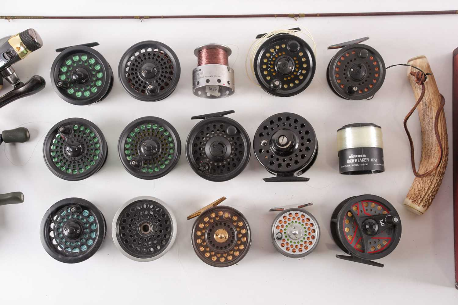 A collection of assorted fly (and other) fishing reels, to include 'The Flyweight' and 'LRH - Image 4 of 7