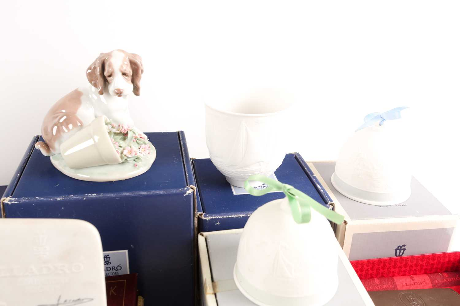 A quantity of Lladro collectables, to include Collectors Society items, It Wasn't Me (07672), candle - Image 5 of 7