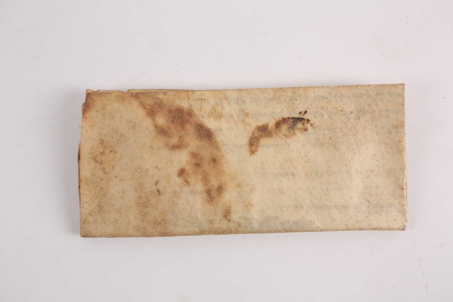 Historical American Interest. An early 19th-century velum land grant indenture signed by James - Image 3 of 4