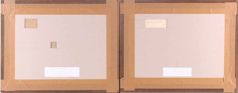 "William Herbert Allen (1863-1943), ""King's Farm, Binstead"" and ""Binstead"", watercolours, a pair, - Image 6 of 11"