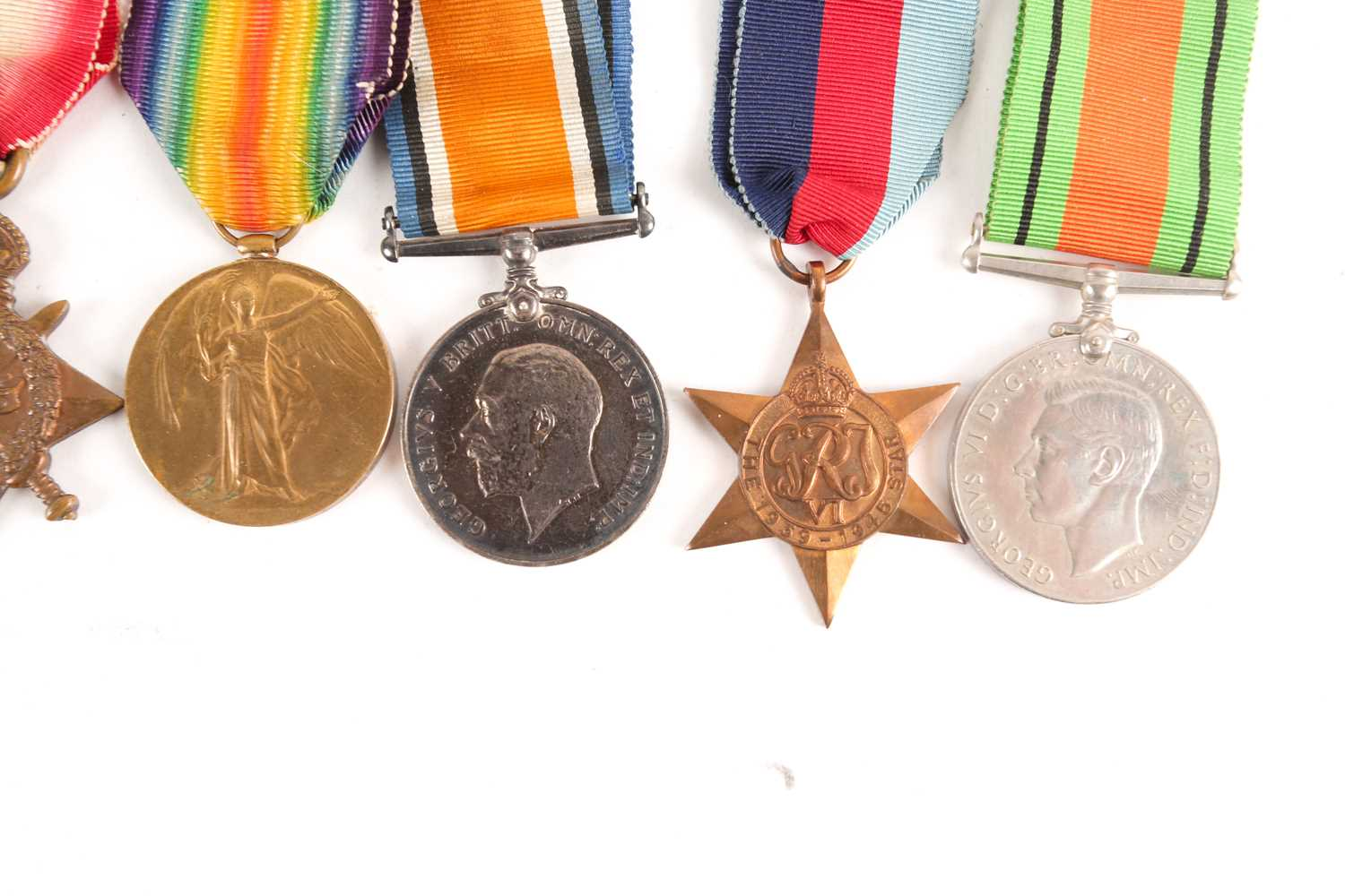 A WWI Campaign, Victory Medal and 1914-1918 Star, to G-4982 PTE. J.R. Pont, Royal Sussex Regiment, - Image 6 of 10