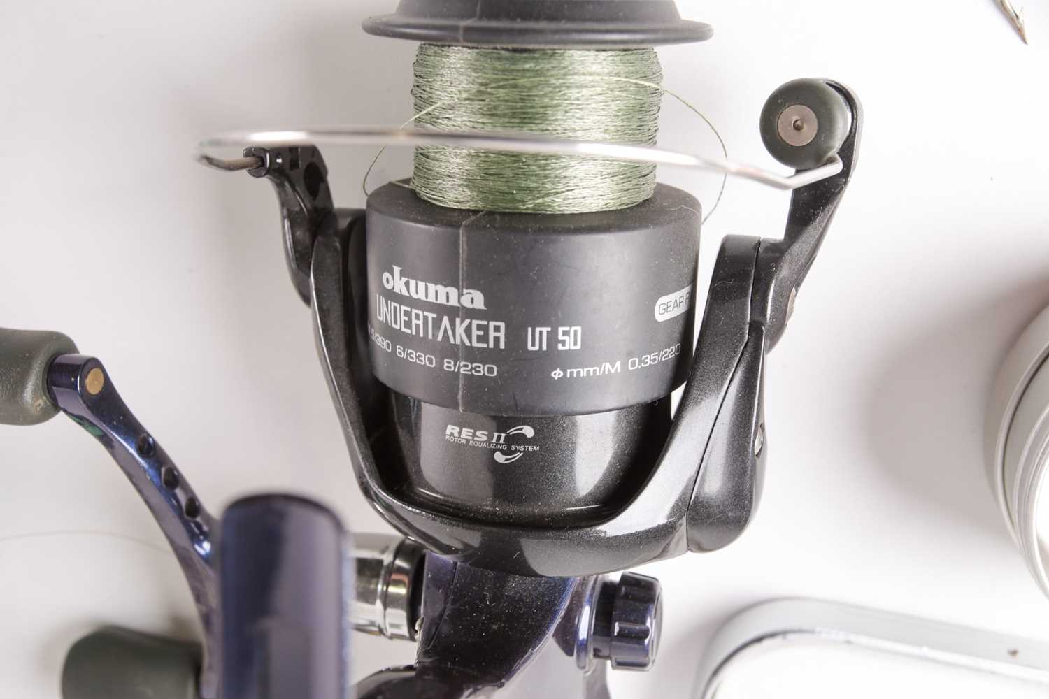A collection of assorted fly (and other) fishing reels, to include 'The Flyweight' and 'LRH - Image 7 of 7