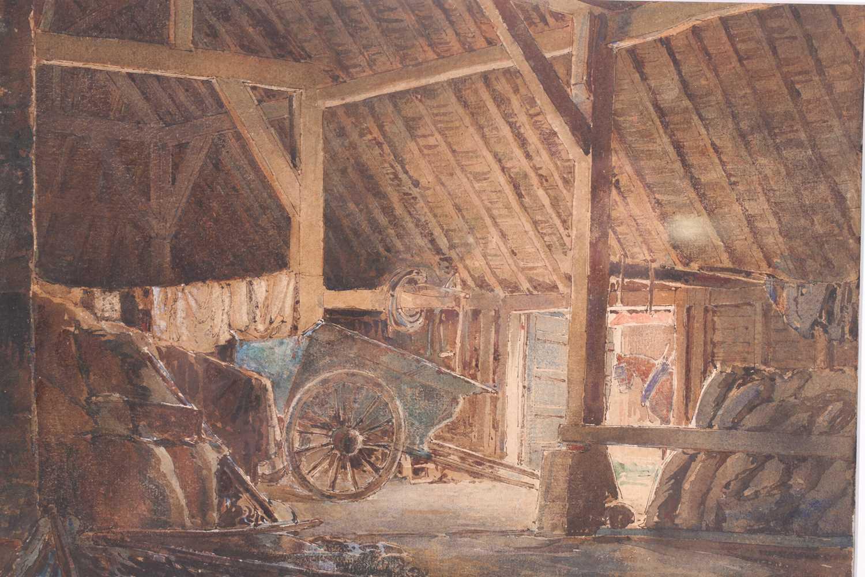 "William Herbert Allen (1863-1943), ""King's Farm, Binstead"" and ""Binstead"", watercolours, a pair, - Image 3 of 11"