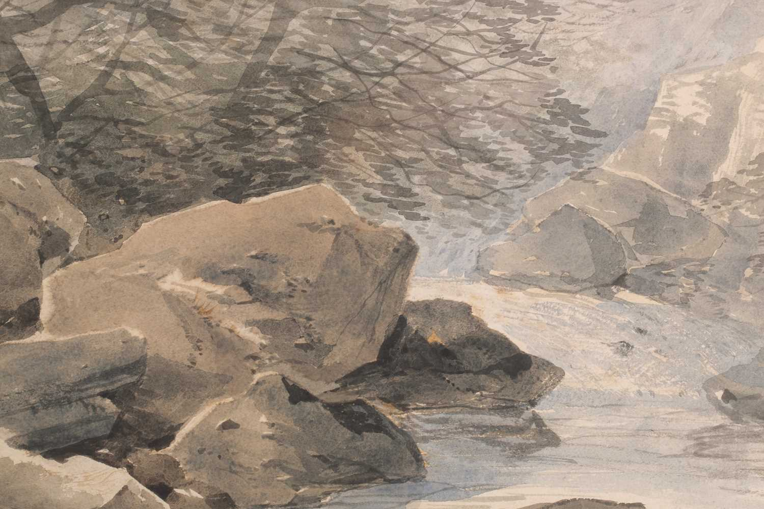 Robert Leman (1799-1863) British, 'The Beck at Llanberis', watercolour, 31 cm x 41 cm, together with - Image 5 of 5