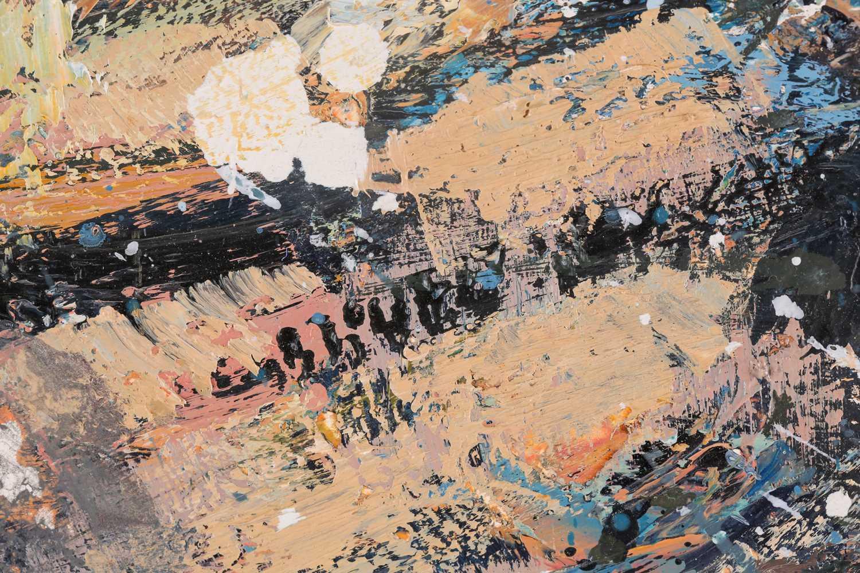 Peter McLaren, (B. 1964), Orkney, 1998, oil on board, 76 cm x 91 cm. Ex City Gallery - Image 3 of 4