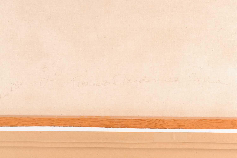 Frances Macdonald SSWA, RGI, (Scottish), White Strand of the Monks, oil on canvas, signed lower - Image 3 of 5