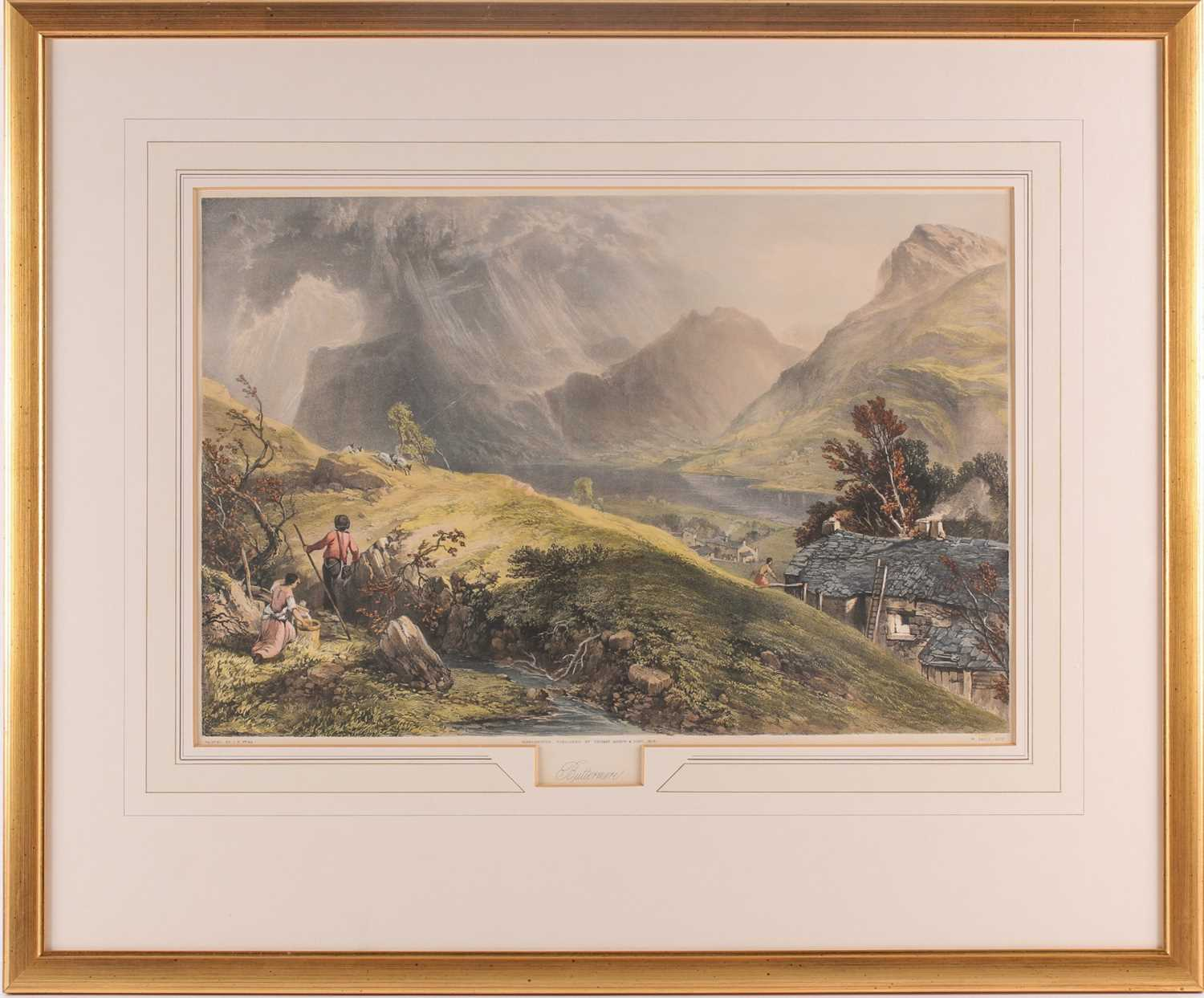 Gauci after J B Pyne, Skiddaw, Buttermere, The Vales of Emmerdale and Buttermere, The Rydal Water, - Image 12 of 13