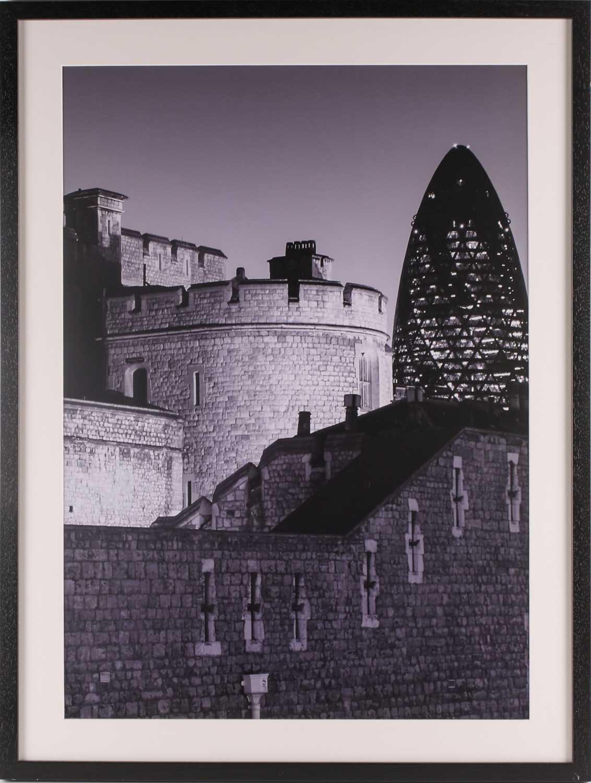 Alex Holland, Centuries apart, London, photographic print, 48.5 cm x 69 cm, Flowing River London, - Image 2 of 11