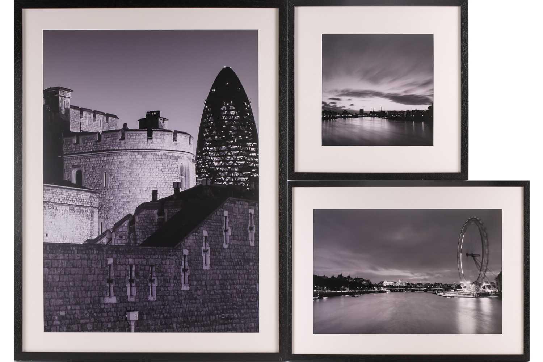 Alex Holland, Centuries apart, London, photographic print, 48.5 cm x 69 cm, Flowing River London,