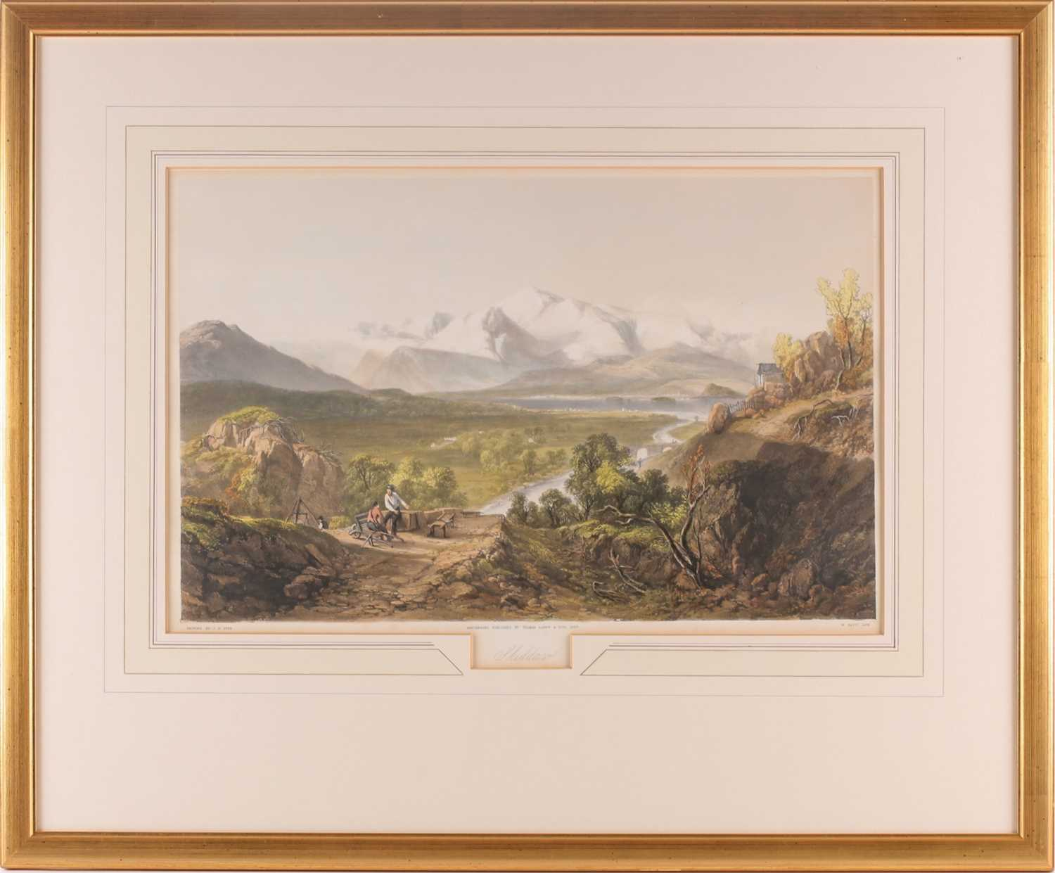 Gauci after J B Pyne, Skiddaw, Buttermere, The Vales of Emmerdale and Buttermere, The Rydal Water, - Image 3 of 13