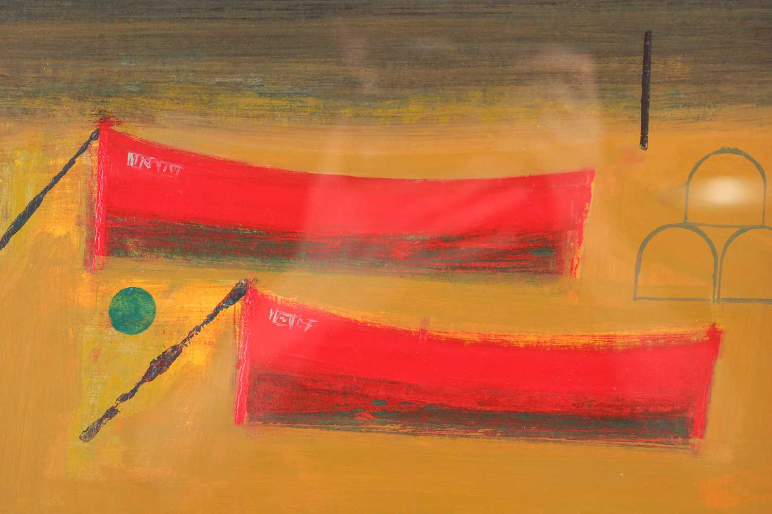 Simon Laurie, RSW RGI (Scottish. B. 1964), Rest Day, acrylic on board, signed lower right, 30.5cm - Image 6 of 6