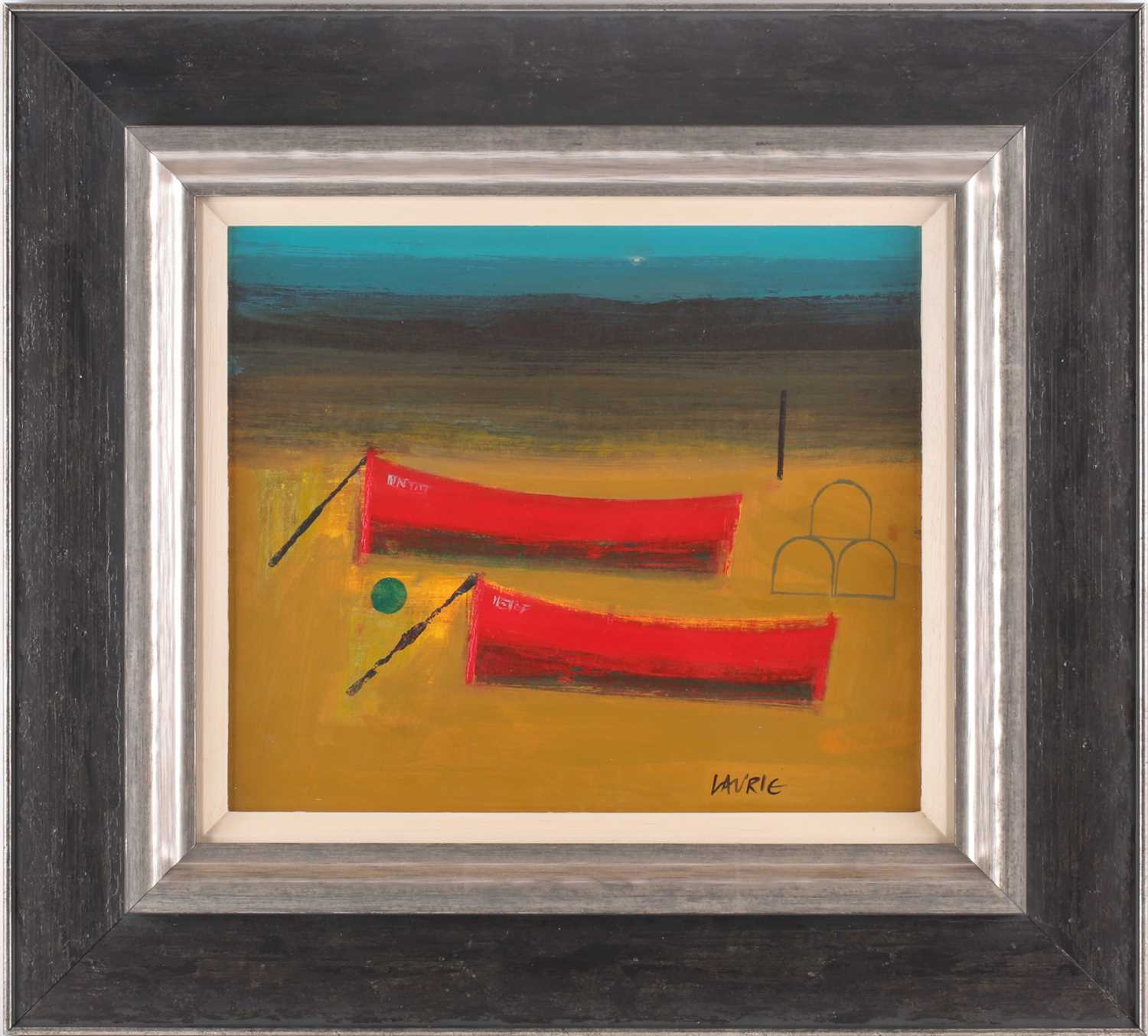 Simon Laurie, RSW RGI (Scottish. B. 1964), Rest Day, acrylic on board, signed lower right, 30.5cm