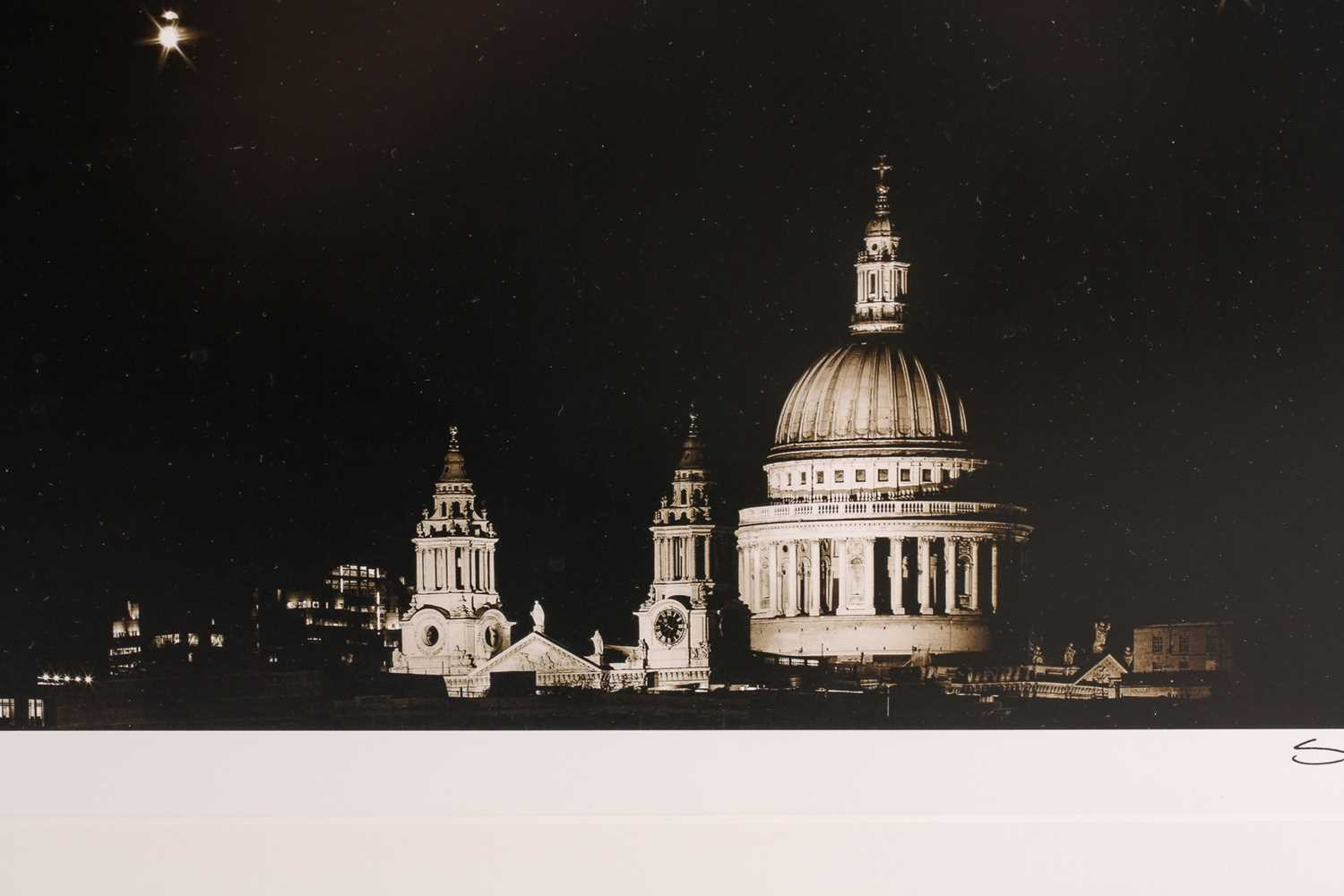 Stuart Redler, St Pauls 1, archival pigment print, signed lower right, print number 15 out of an - Image 4 of 5