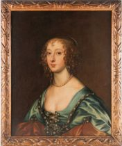 Circle of Sir Peter Lely (1618-1680), a late 17th century portrait of a woman, possibly Lady