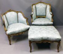 """So genannte """"Duchesse brisée"""" im Stil Louis XV."""