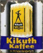"Emailschild ""Kikuth Kaffee""."
