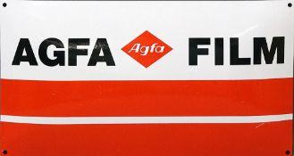 "Emailschild ""Agfa""."