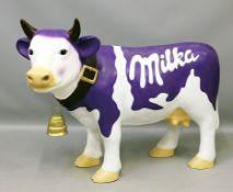 "Große Skulptur ""Milka""."