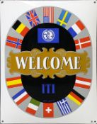 "Emailschild ""WELCOME ITI""."