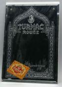 """Wandspiegel """"TURMAC Rouge""""."""