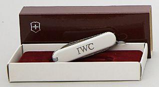 Werbe-Taschenmesser, IWC.
