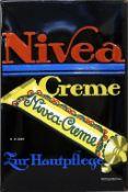 "Werbeschild ""Nivea Creme""."