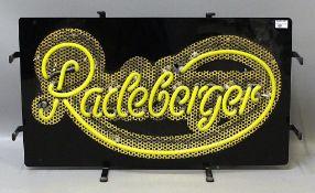 "Neon-Reklame ""Radeberger""."