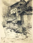 Gette, Oswald (1872 Ruhland - Berlin 1941)