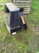 Large (ex forklift) front end Weight