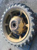 Pair of 7.20/7 x 36 rowcrop Wheels