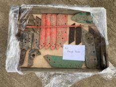 Box of Kverneland Plough Parts