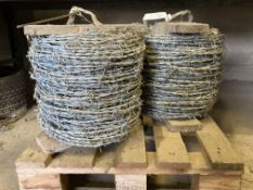 2 no new rolls of Barbed Wire