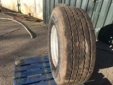 385/65R 22.5 Super Single Wheel c/w 8 st