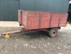 Tye 3 tonne wooden bodied tipping Traile