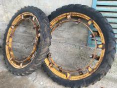 Pair of 6.50 x 44 rowcrop Wheels