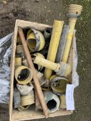Pallet of Walterscheid PTO Parts & Shaft